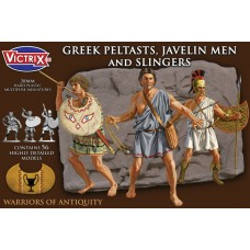 Greek Peltasts Javelin men and slingers